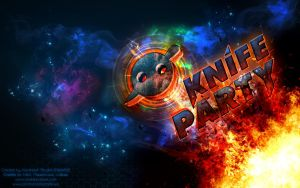 Knife Party Wallpaper by rebel28
