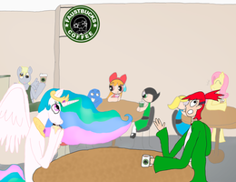 A day at Faustbucks by RaichelChu26