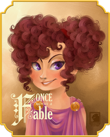 ONCE UPON A FABLE: Megara by BASTAFUNK
