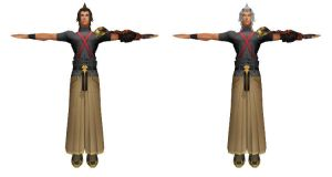 MMD Terra and Terranort DL by 0-0-Alice-0-0