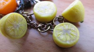 Lemons cellphone charms by damnheliotrope