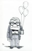 Carl from Pixar's UP by AtlantaJones