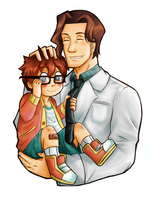 Me and Papa by SuppieChan