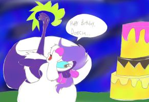 Happy Birthday 23 Dcencia by ThrillingRaccoon