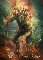 Elemental creature by Vasylina