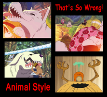 That's so Wrong! Animal Style by Katzztar