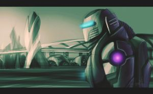 Tron..a bio robot by swarooproy