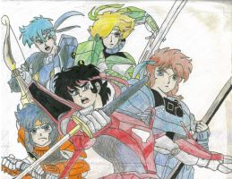 Ronin Warriors by JadeAngelWings