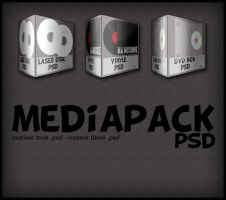 MEDIAPACK psd by GeeArt-ON-deviant