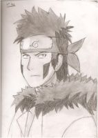 kiba drawing by forgot-to-be-human2