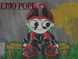 emo pope in colour by JeVuS