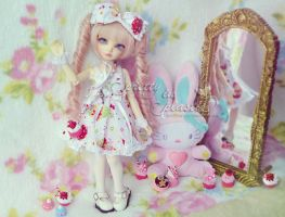 new dress for Aruna by prettyinplastic