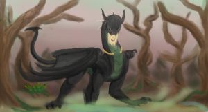 Drake Of The Swamps by Shadow-Lockheed