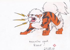 Arcanine used Roar by SneakingSniper