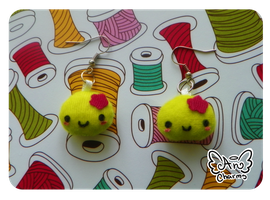 .: Sabbo Cactus Earrings :. by Angeru-Charms