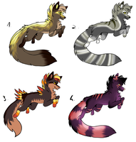 CLOSED - Canines Adoptables 216 by LeaAdoptables