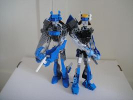 Blue Jet Sisters by Redtriangle