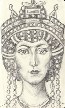 Theodora the Empress by selva-s