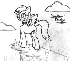 2012-02-23-Rainbow on a Hill by Valorcrow