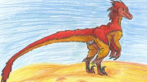 Velociraptor by AlexisAthene