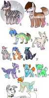 [open] HUGE Adopt Sale! by tinyspook