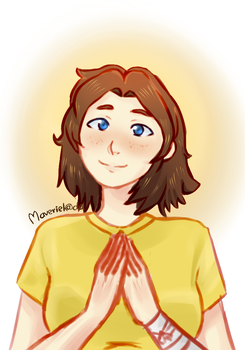 Girl in yellow - request by Maveriel