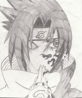 Sasuke Of Naruto by UponDegration