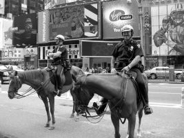 NYC Cops by ButterflyJewel