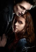 Edward and Bella by marvinrocks