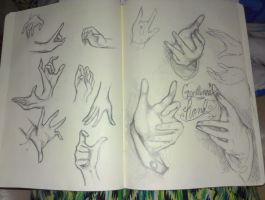 Hand References by farronox