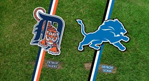Detroit Tigers and Lions Wallpaper by rsholtis