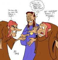 Useless Priests: Arguing by Kmadden2004