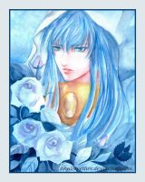 Blue roses by sinnistvether