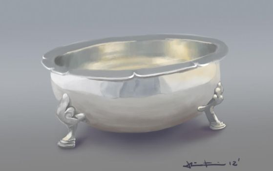 silver bowl study by Fresh-H