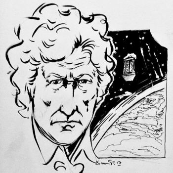 Doctor Who A-Z the numbers: 3 is for Jon Pertwee by Simontm71