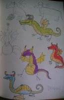 Monsters 1: Dragons by ysyra