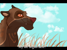 When My Life Began by Wolf-Chalk