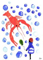Lobster Love by LanyLevendula