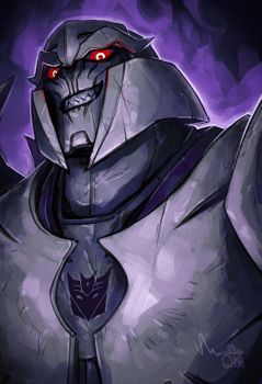 TF: Prime - Megatron by TheMinttu
