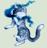 shimmerpelt YCH ( example ) by BreezyBunny