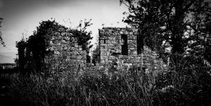 Haunted Ruins 2 BW by BusterBrownBB