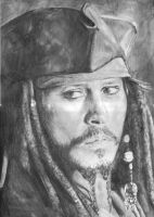 Gift: Jack Sparrow by Inky-BlackFire