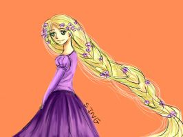 Tangled by sreysat2013