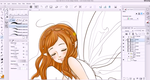 Fairy girl coloring pt 1 by Pink-world