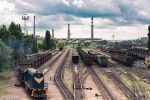 Train depo, Donetsk by daily-telegraph