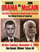 Obama vs McCain by psmonkey