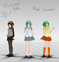 Mozaik Roll Gumi DL by MMD-Sky
