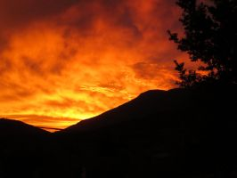 The Sky Is On Fire 1 by Victoria-Mava