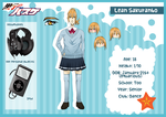 +KnB OC+ Lean's profile by Nicas-Tan