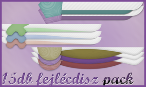 15 fejlecdisz pack by ChocolateCream-Betty